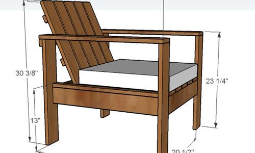 sillas de jard n hechas con palets de madera