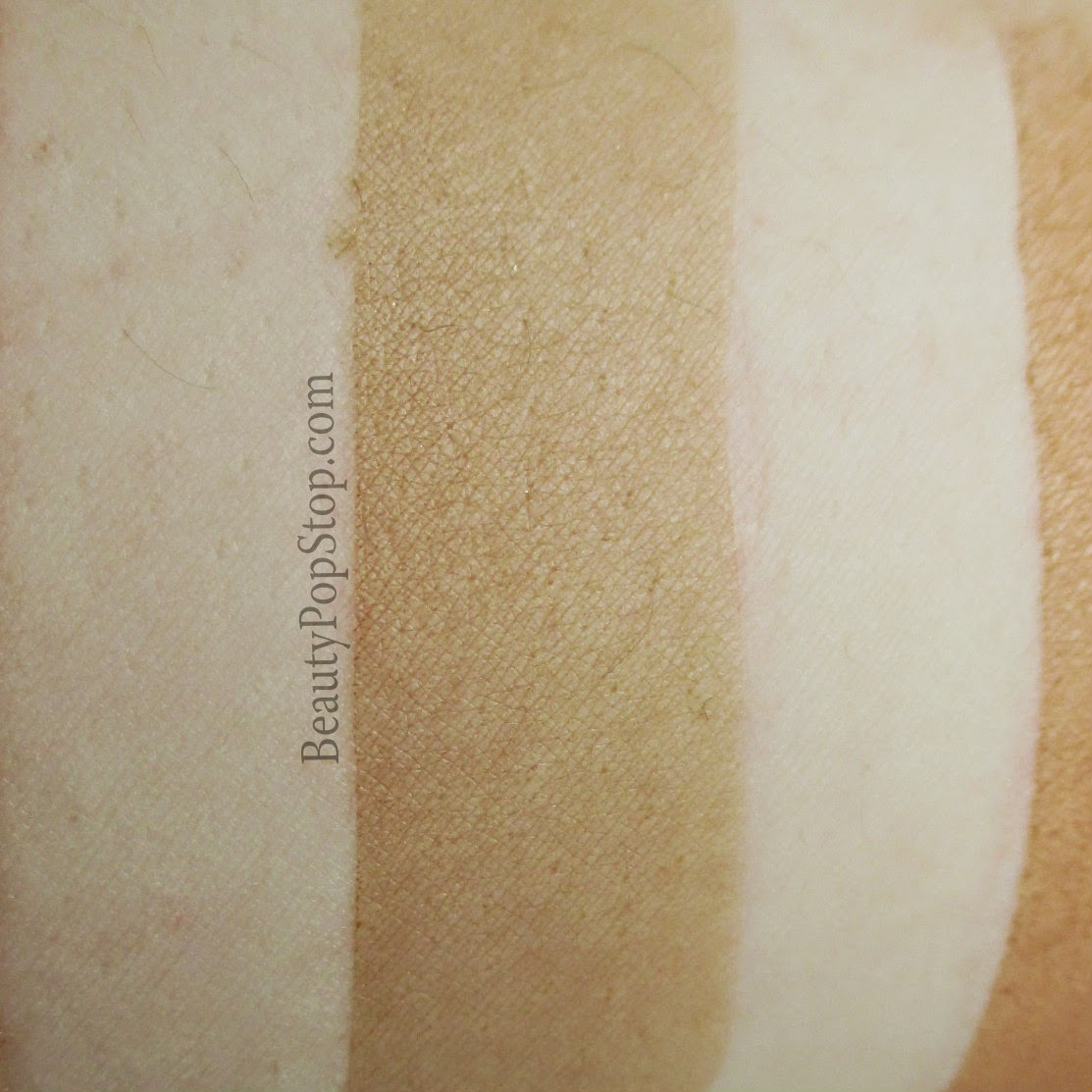 perfekt matte body perfection gel in tan swatch