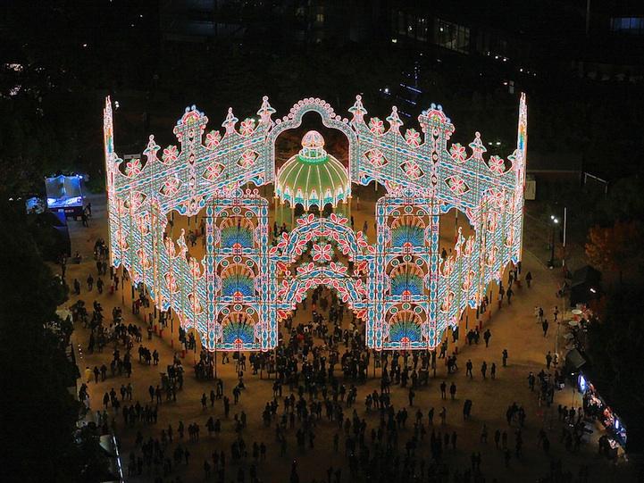 Japan's Winter Lights Festival