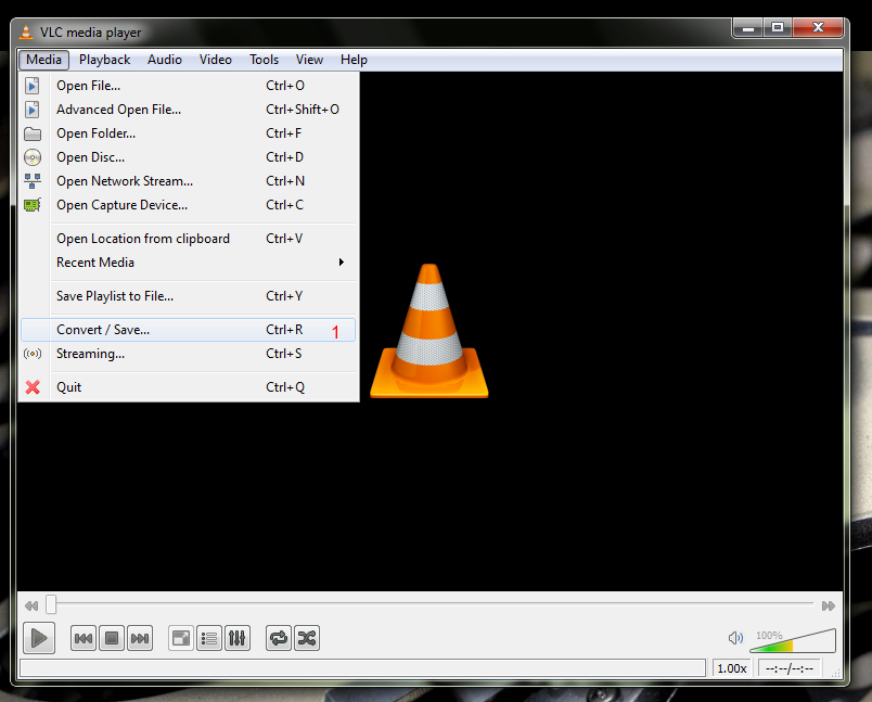 how to play wav files in vlc