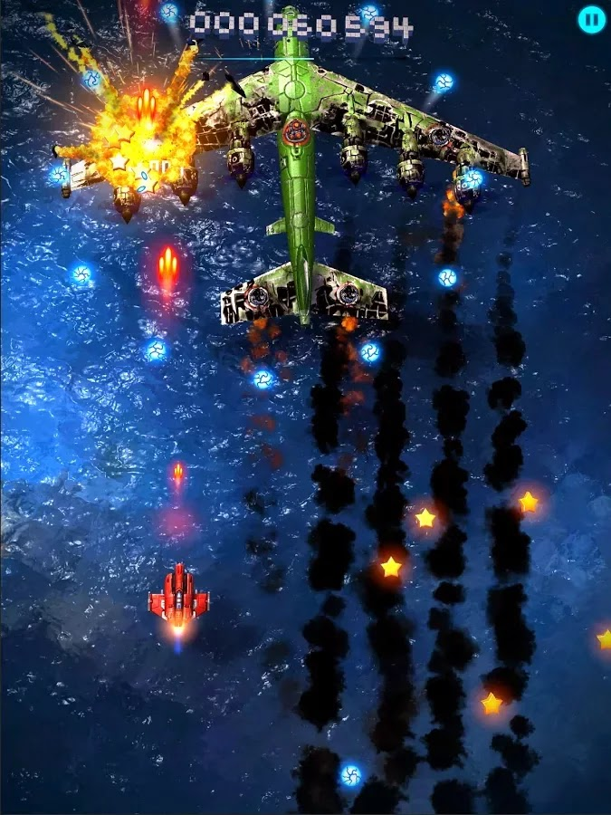 Sky Force 2014 v1.22 Mod [Unlimited Stars]
