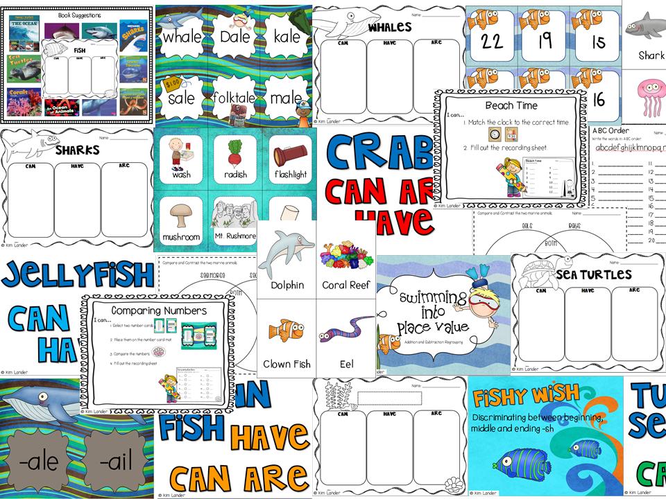 http://www.teacherspayteachers.com/Product/Splish-Splash-an-Ocean-Unit-1160505
