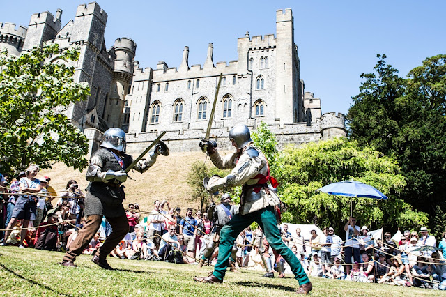 Jousting & Medieval Tournament Week at Arundel Castle (Photo; Victoria Dawes)