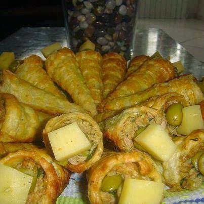 Recette du Cornet à la pâte feuilletée farcis