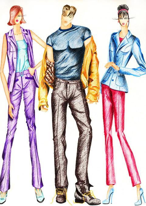 Fashion chick el color en el dise o de moda for Ropa de diseno online