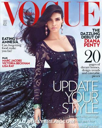 Diana Penty on Vogue Magazine CoverPage - Diana Penty All Magazine CoverPage Scans