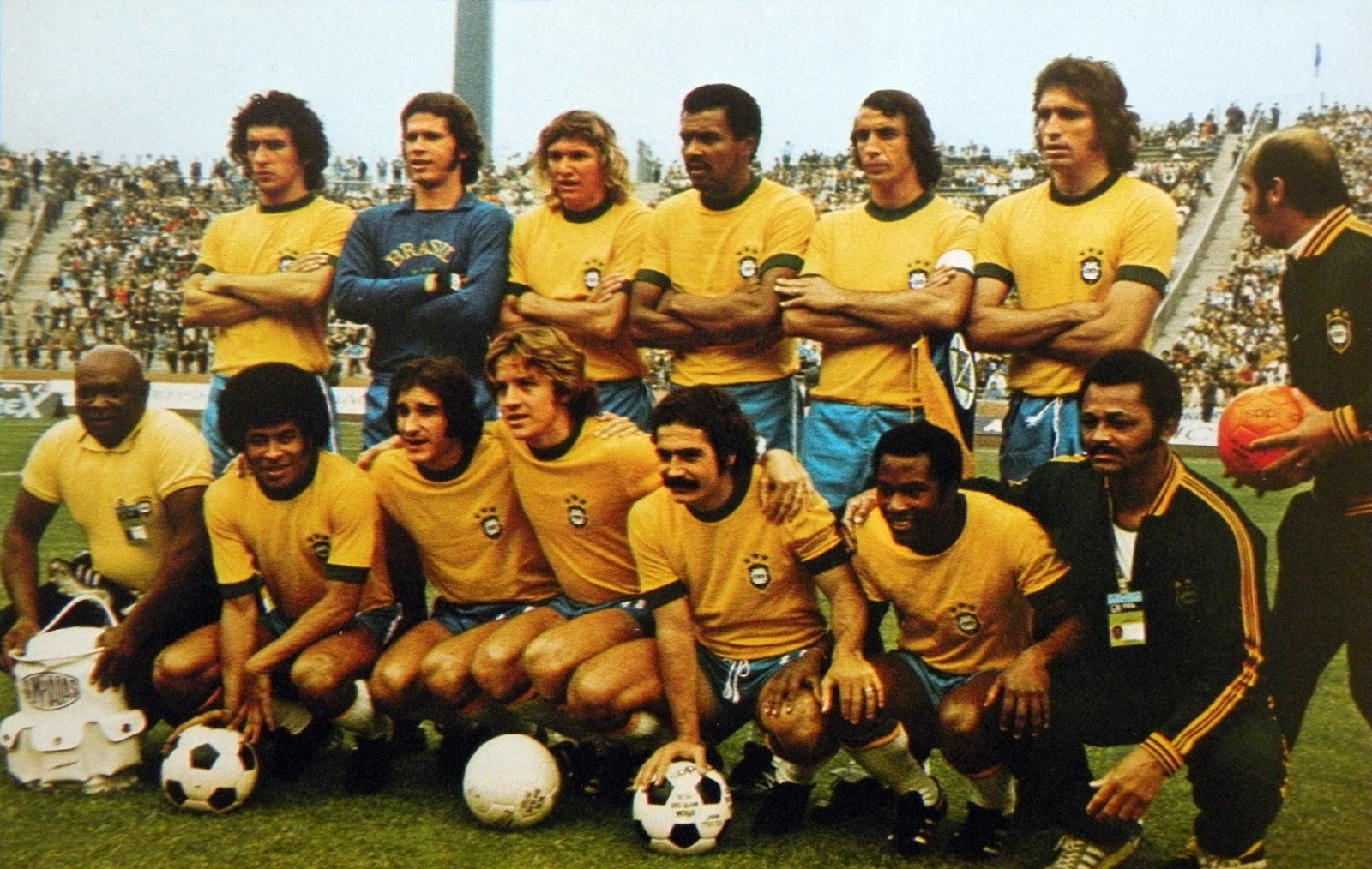 Bresil 1974 the vintage football club - Coupe du monde foot bresil ...