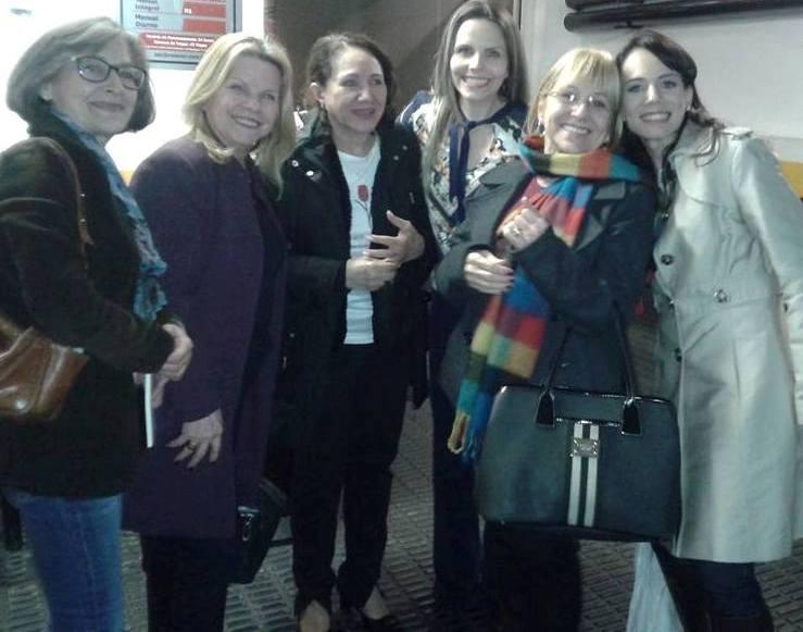 Vibrar - Ondina Ianzer, Terezinha e Luciana Ressinetti, Lu Ianzer,Teresa Fusaro e Danielle Ianzer