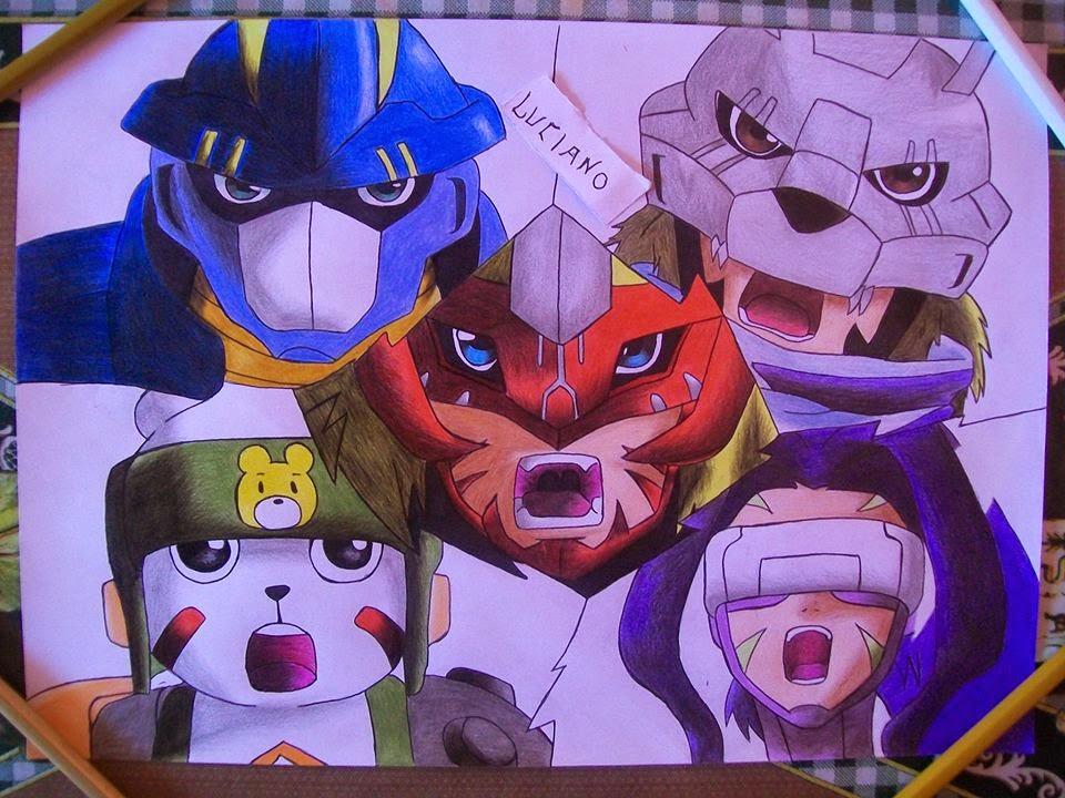 Digimon tamers latino - 1 4