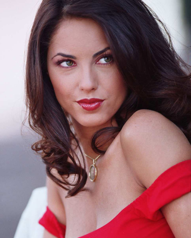 Barbara Mori Red Hot Bikini in Rubi HQ Images