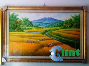 ... Padi - GLINT FRAME   Tempat Pembuatan Bingkai, Kaligrafi, Lukisan
