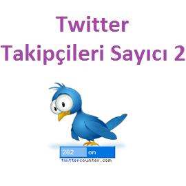 Twitter Takipçileri Sayıcı 2
