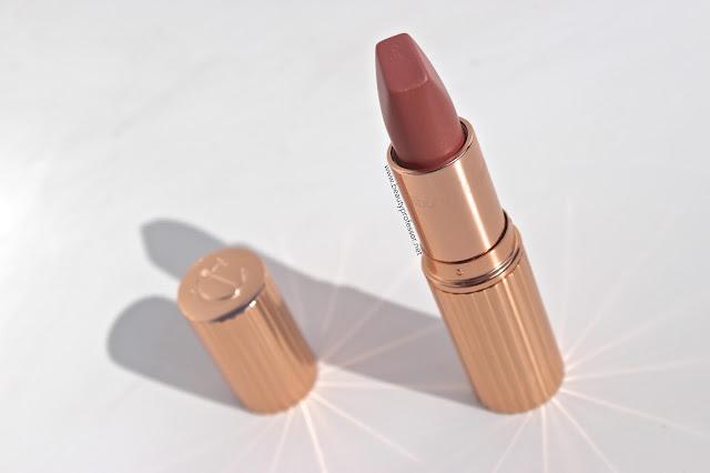 charlotte tilbury miss kensington lipstick swatches