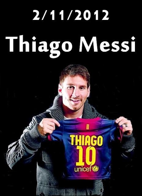Thiago messi shoes