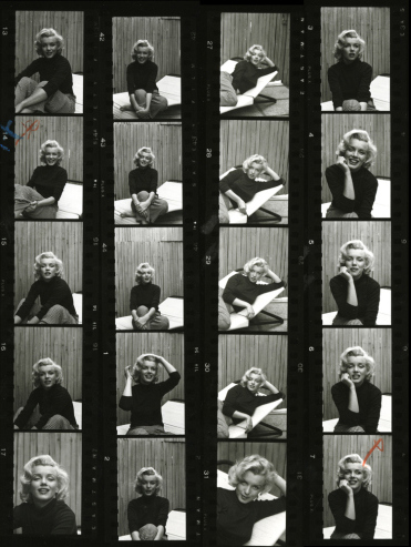 Shooting Film Wonderful Portraits Of Marilyn Monroe At