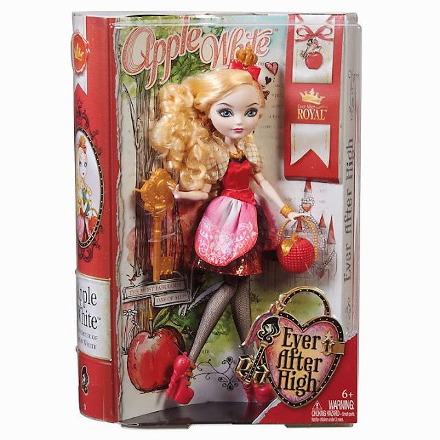 Muñeca Apple White en caja