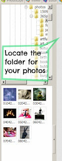 photoscape locate images