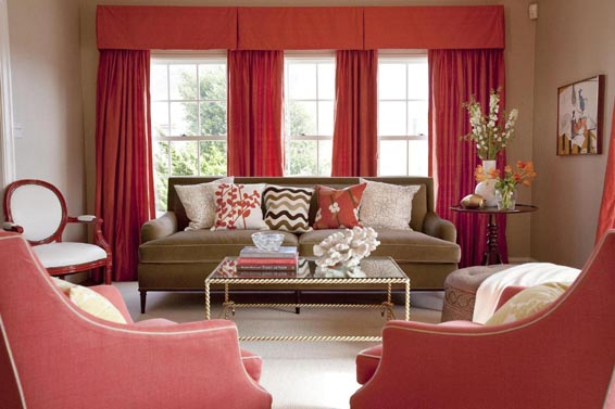 Red Living Room Furniture