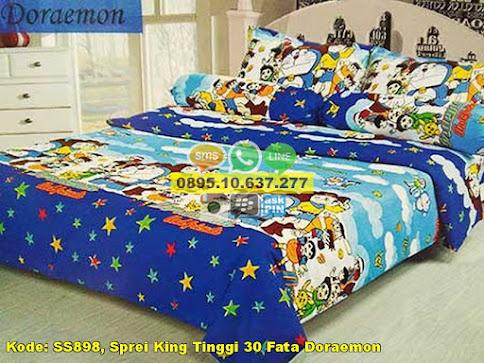 Sprei King Tinggi 30 Fata Doraemon