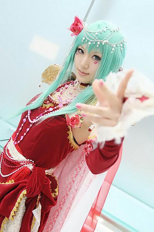beautiful asian cosplayer 04