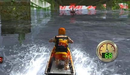 لعبة الموتسكلات المائية Jet Ski Rush اون لاين
