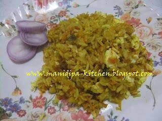 left over rice biriyani