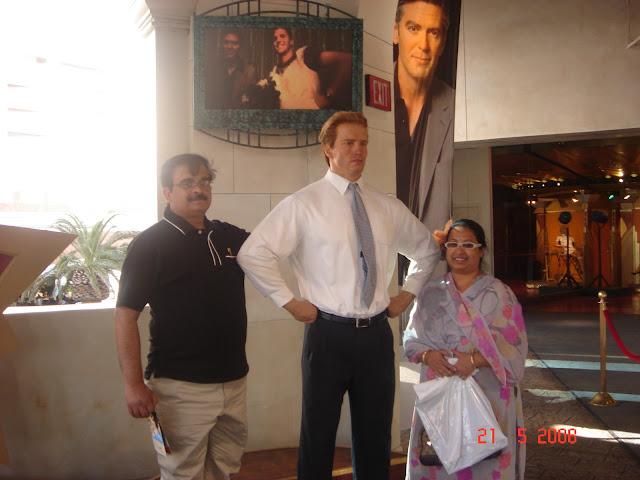Arnold,Madame Tussauds, Las Vegas