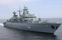 F123 Brandenburg class frigate