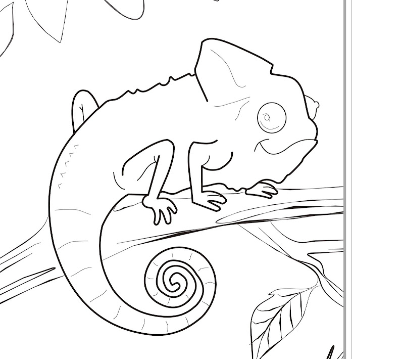 Free Animals Coloring Pages Zoo To Kids title=
