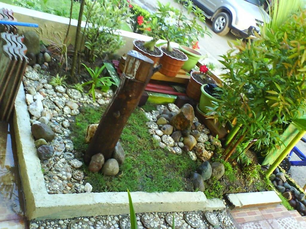Desain Model Taman Kering Minimalis Lahan Sempit
