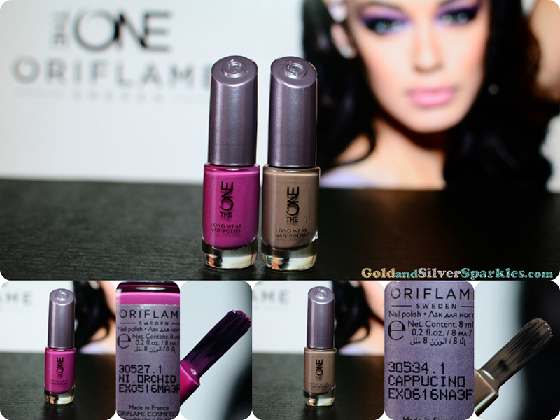 oriflame the one lng wear nail polish