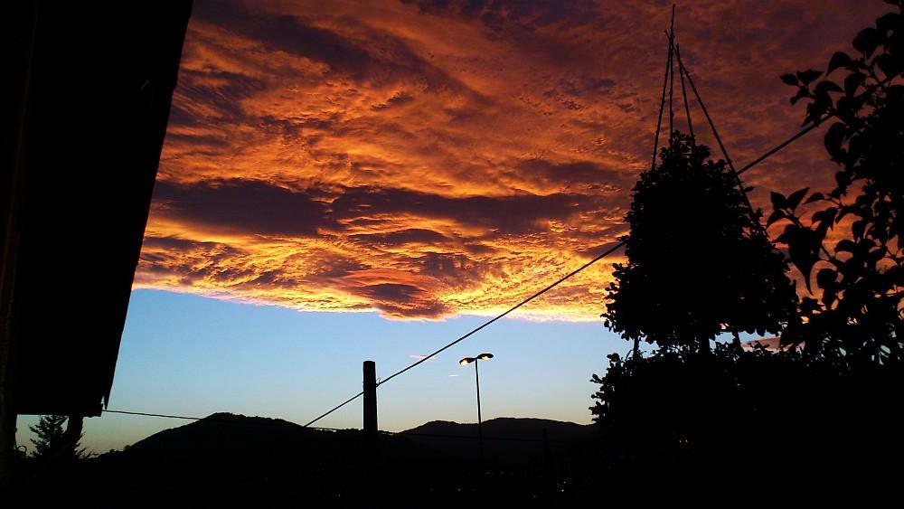 cielo rojo,Sodoma, Planeta, Bilbao,tormenta
