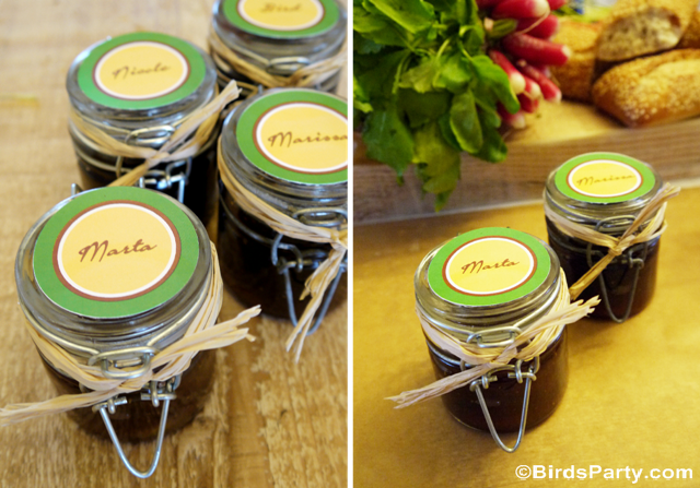 Cheese Fondue Party DIY Favors