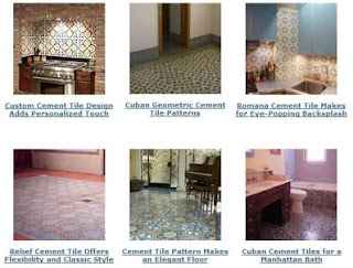 Cement Tile Design Ideas