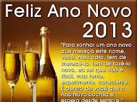 CARTÕES DE ANO NOVO 2013