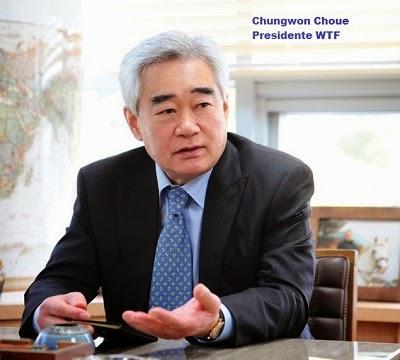 Chungwon Choue Presidente WTF
