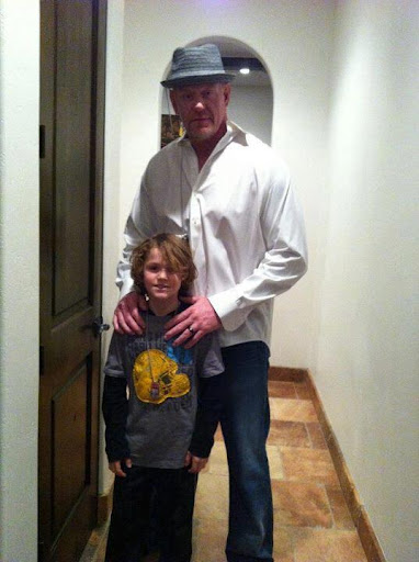 Amazing Or Funny: Undertaker With his Son 2012