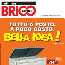 Volantino Brico, Volantini, Catalogo, Brico Center, Milano