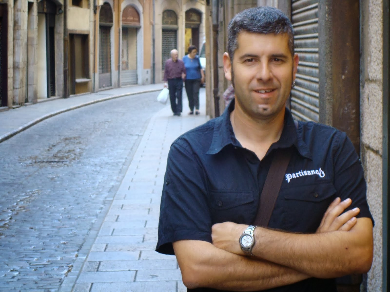 Jordi Navarro, regidor de la CUP a l'Ajuntament de Girona
