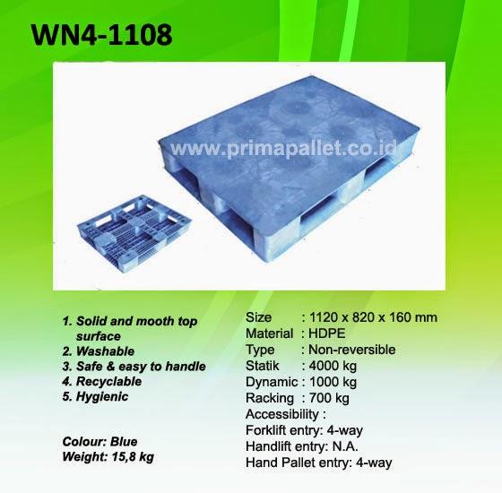 Jual Pallet Plastik WN4-1108