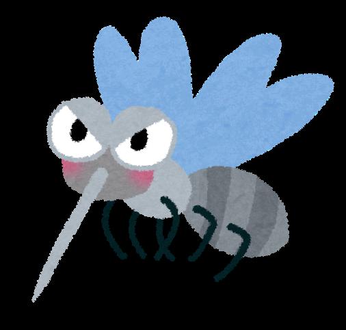蚊のイラスト | 無料イラスト ...