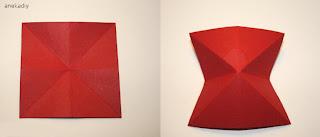 cara membuat origami kupu-kupu