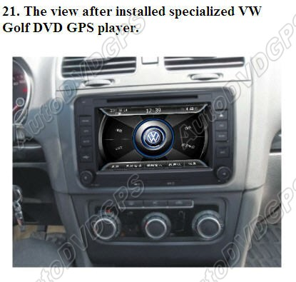 How to set up a Car Stereo System in VW Golf   Oem Navigation