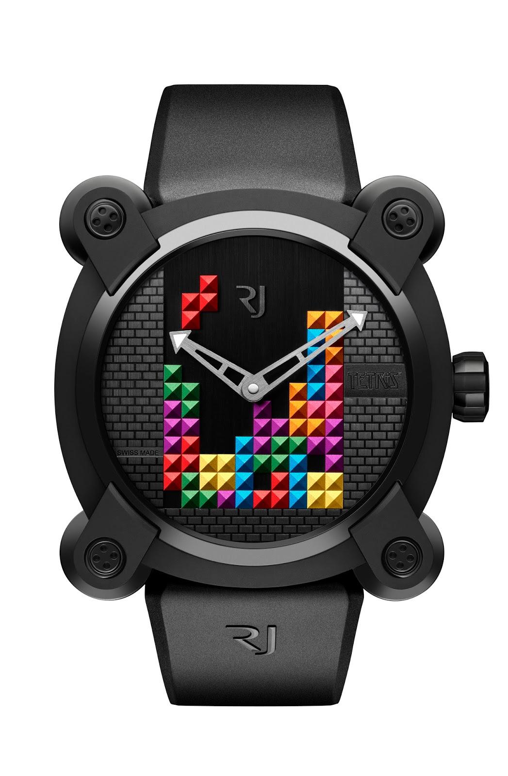 Eniwhere Fashion tips - orologi - Tetris DNA RJ Watches