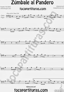 Partitura de Zúmbale al Pandero para Violonchelo y Fagot by Sheet Music for Cello and Bassoon Music Scores