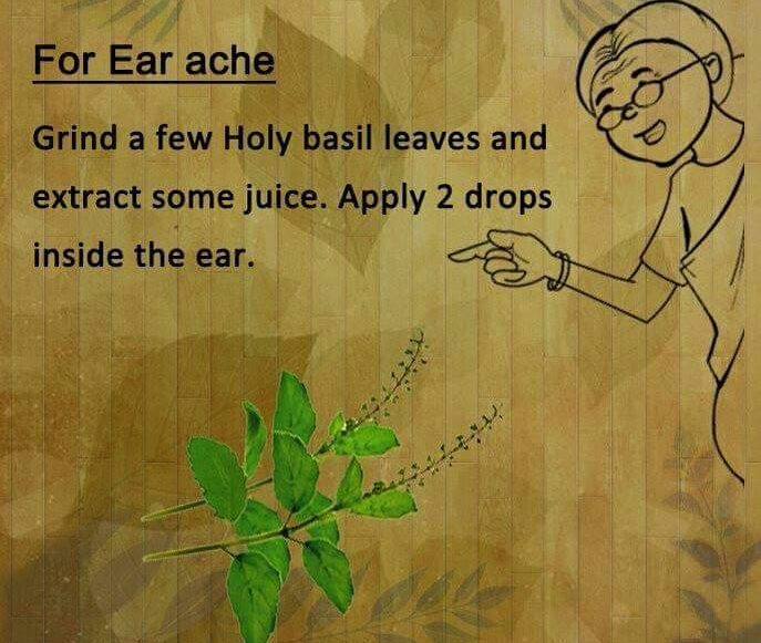 Ear Ache home remedy