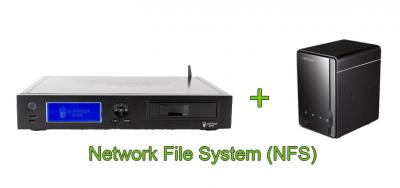 Hour C-200 + D-Link DNS-320: настройка Networked File System (NFS)