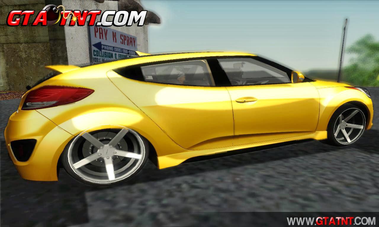 Hyundai Veloster 2014 para GTA San Andreas