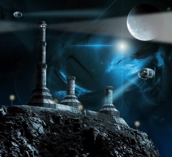 Photoshop Tutorial: A Futuristic Sci-Fi Scene