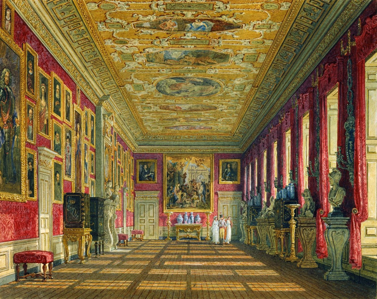 Spencer alley documented interiors Kensington palace state rooms